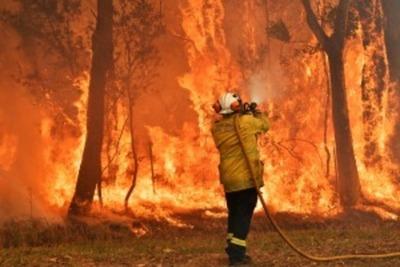 Piden la evacuación de miles de turistas y residentes en Australia debido a los incendios