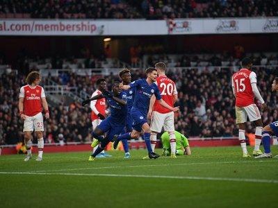 El Chelsea frustra a Arteta en cuatro minutos