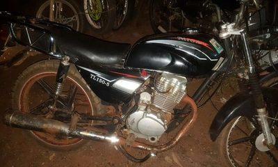 Motochorro abandona biciclo tras asalto