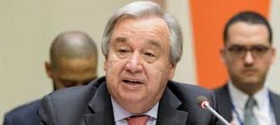 Guterres dice en su mensaje de año nuevo que su mayor esperanza son los jóvenes