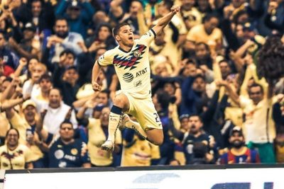 """Cachorro"" Sánchez marca un golazo, pero no le alcanza al América"