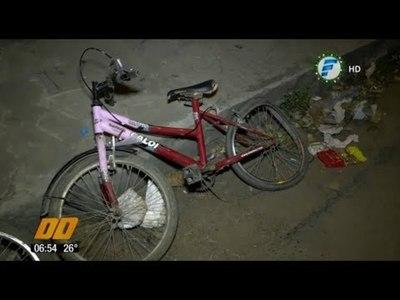 Policía ebrio atropelló a menor de 14 años