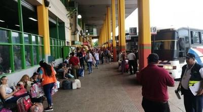 Horario liberado en Terminal de Ómnibus se extenderá hasta el 6 de enero