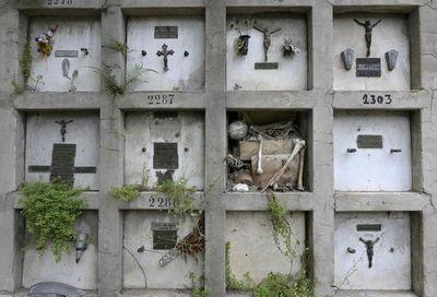 El lujo de morir en una Argentina en crisis