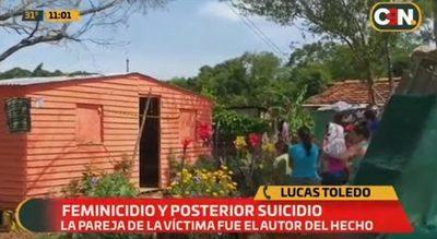 Feminicidio y posterior suicidio en Coronel Bogado