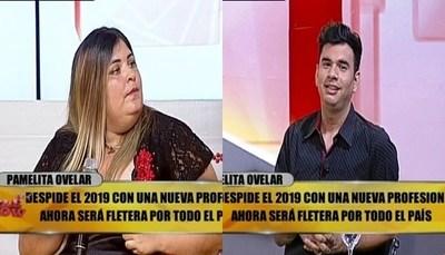 """Pamelita trató de """"dañado y frustrado"""" a panelista de """"TeleShow"""""""