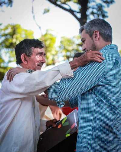 Presidente pide recuperar con hechos la confianza de la gente, durante inauguración de obras en Caaguazú