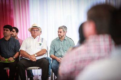 Abdo inauguró obras en Caaguazú