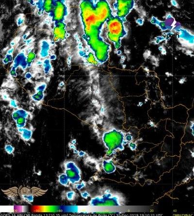 Alerta de tormentas, como anticipo a los festejos de fin de año