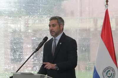 """Mario Abdo destaca obras de su Gobierno y asegura que """"ya no son discursos"""""""