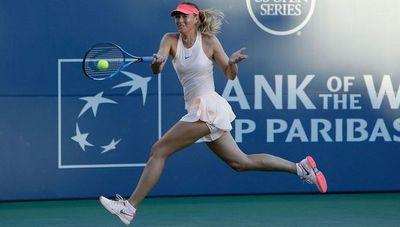 Sharapova regresará a las canchas en Brisbane