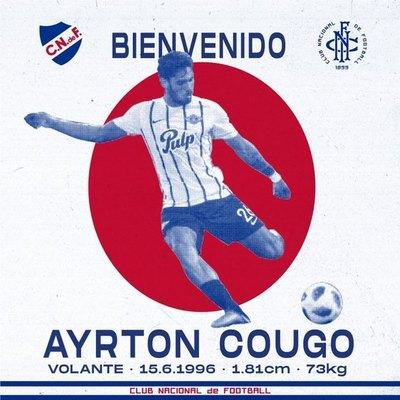 Ayrton Cougo, nuevo refuerzo de Nacional
