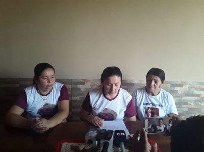 Familia suplica la liberación de Félix Urbieta