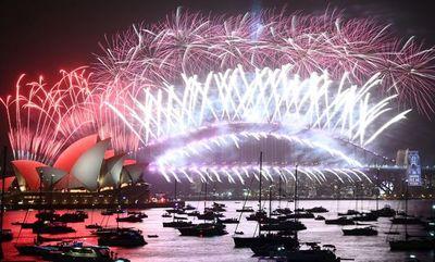 Sídney comenzó las celebraciones de Año Nuevo en el mundo