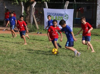 Programa Golazo culminó exitosamente el 2019 en Fernando de la Mora