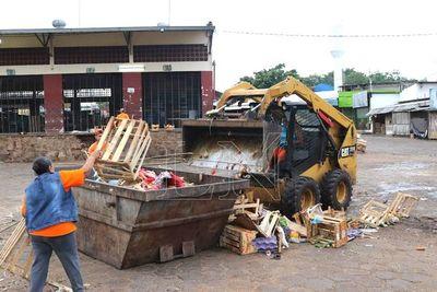 Basura capital: Juntaron ayer más de 930 mil kilos