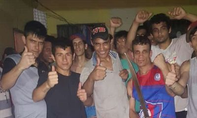 Reos festejan con machete en cárcel de Pedro Juan Caballero