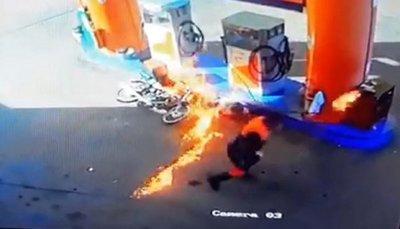 Recomendaciones para que no se te incendie tu vehículo en la estación de servicios