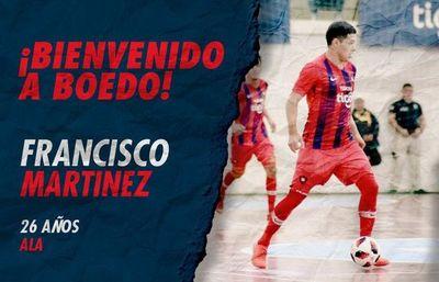 """Martínez es """"Cuervo"""""""