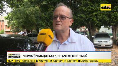 """""""Comisión maquillaje"""" de Anexo C de Itaipú"""