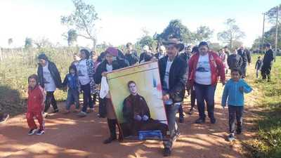 Padres, familiares y amigos de Edelio marcharon por el quinto aniversario de su secuestro