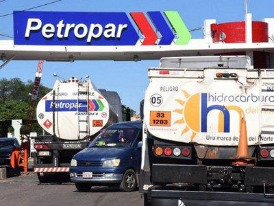 Petropar aumentaría el gasoil G. 300 por litro