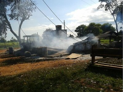 Ataque a estancia en Concepción podría ser obra del EPP