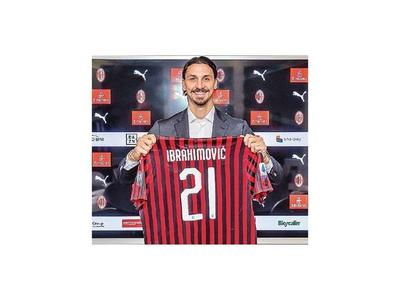 Zlatan se volvió a vestir de rossonero