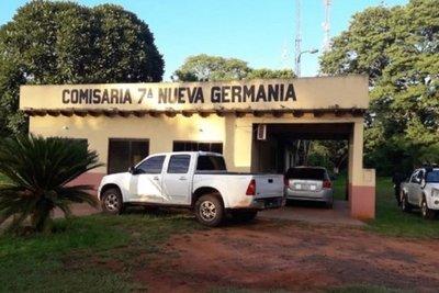 Identifican a atacantes de comisaría de Nueva Germania
