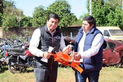Echaron al director de la PMT Luis Candia •
