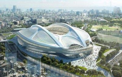A 7 meses de los JJOO, se estrenó el estadio Olímpico de Tokio