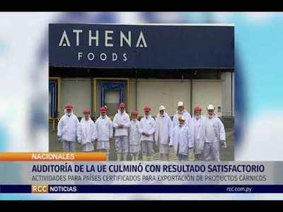 AUDITORÍA DE LA UNIÓN EUROPEA CULMINÓ CON RESULTADO SATISFACTORIO