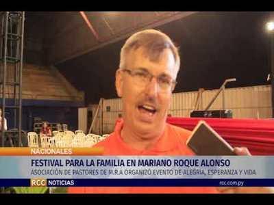 FESTIVAL PARA LA FAMILIA EN MARIANO ROQUE ALONSO