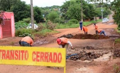"""Ante súplicas de lugareños reparan el """"Corredor Sur"""""""