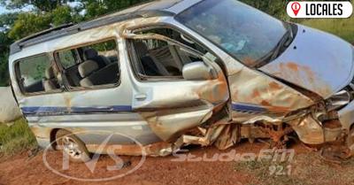 Primos protagonizan accidente de tránsito en General Artigas