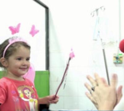 Los Payasonrisas llevaron alegría a niños del Hospital Barrio Obrero