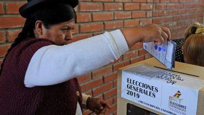 El ente electoral de Bolivia aprueba la convocatoria a elecciones generales