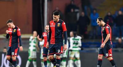 El Genoa triunfa ante Sassuolo, pero sigue en zona de descenso