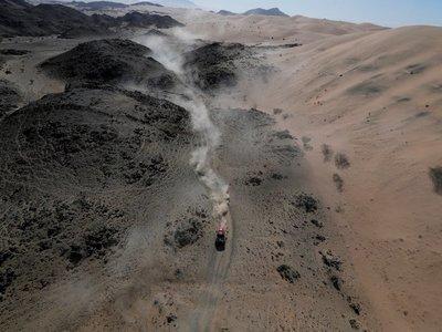 El argentino Terranova, nuevo líder del Dakar