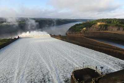 Itaipu obtuvo récord en aprovechamiento de agua y productividad en el 2019