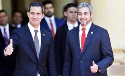 Nuestro país reconoce a Juan Guaidó como presidente interino de Venezuela