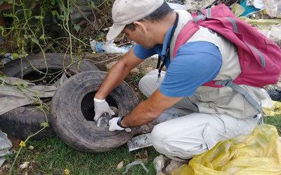 Por semana se tienen 1.200 notificaciones sobre sospechosos de dengue
