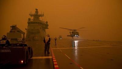 El humo de los incendios de Australia viaja 11.000 kilómetros y llega a Chile