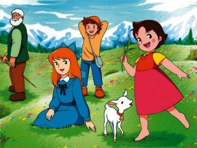 La famosa serie de animé Heidi cumplió  46 años