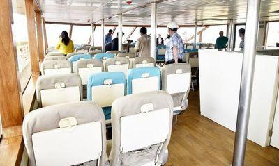 Villahayenses celebran servicio de ferry