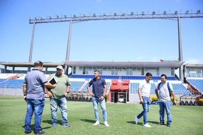 Iniciaron inspección de estadios para el Torneo Apertura