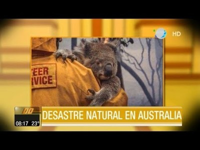 Desastre natural en Australia