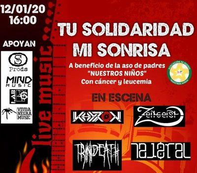 Invitan a concierto a beneficio de niños con cáncer