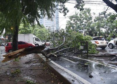 Alerta por tormentas en tres departamentos