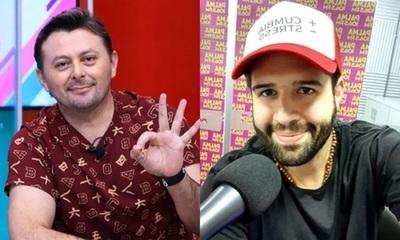 Bicho Riveros contento con su dupla de radio